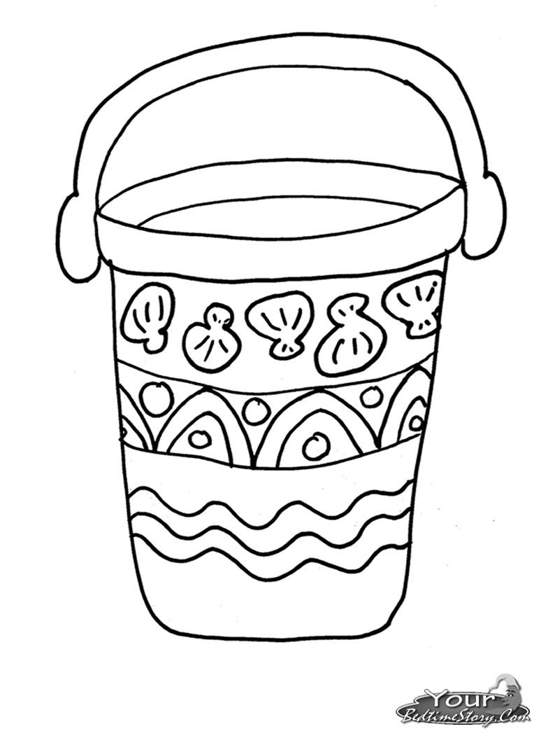 bucket filler coloring page bucket fillers coloring page coloring home