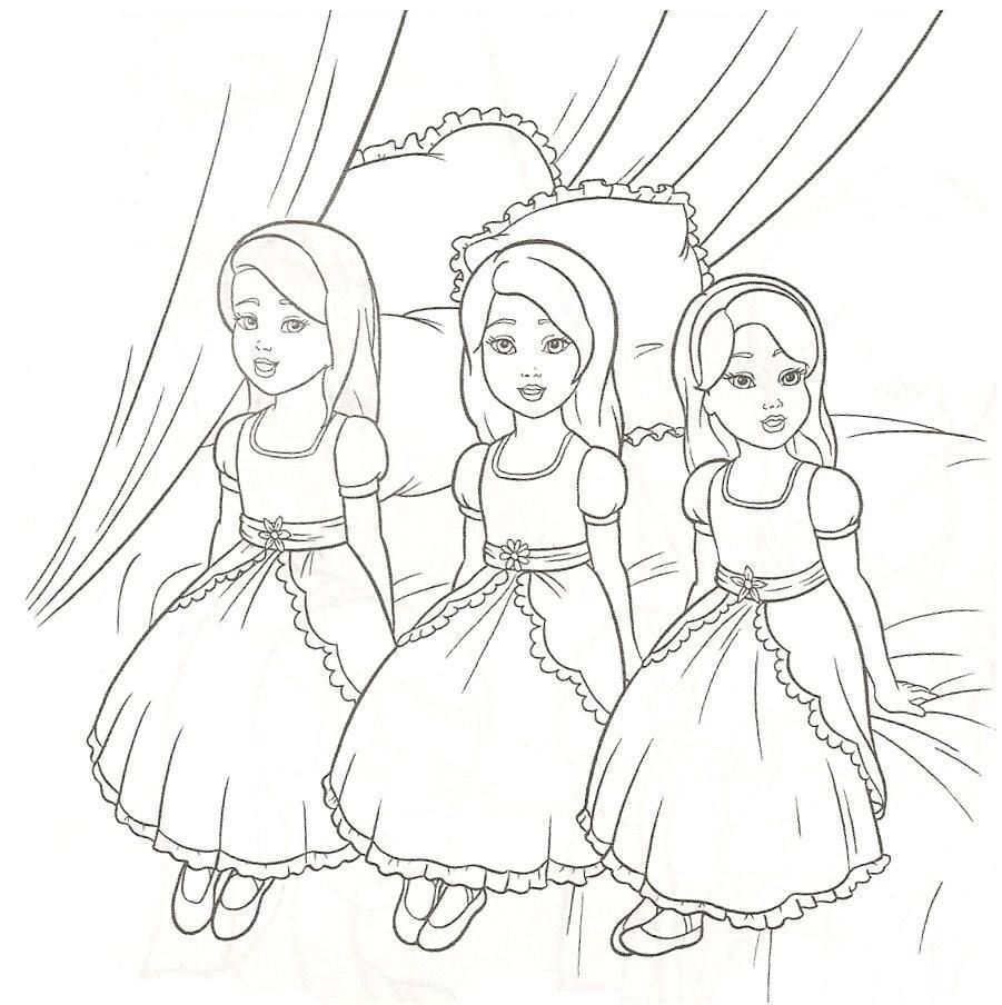 Real Barbie Movies Barbie Coloring Pages Free Printable Coloring ...