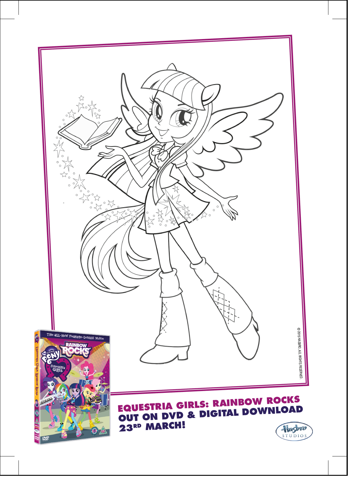 Rainbow Dash Rocks Coloring Pages - High Quality Coloring Pages