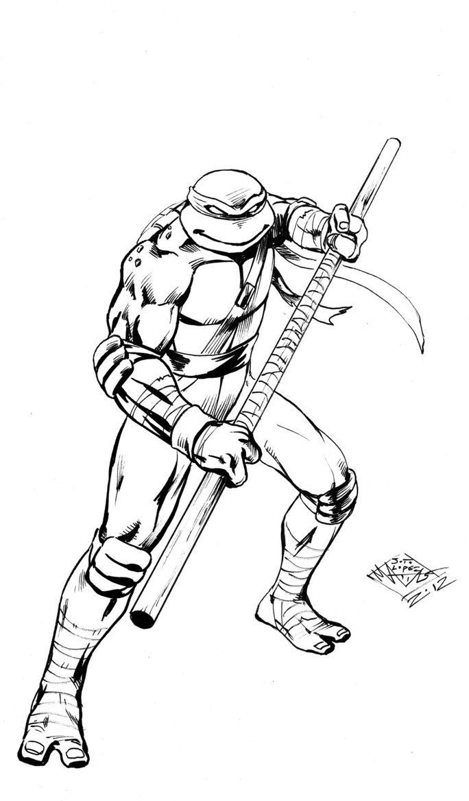 Teenage Mutant Ninja Turtles Coloring