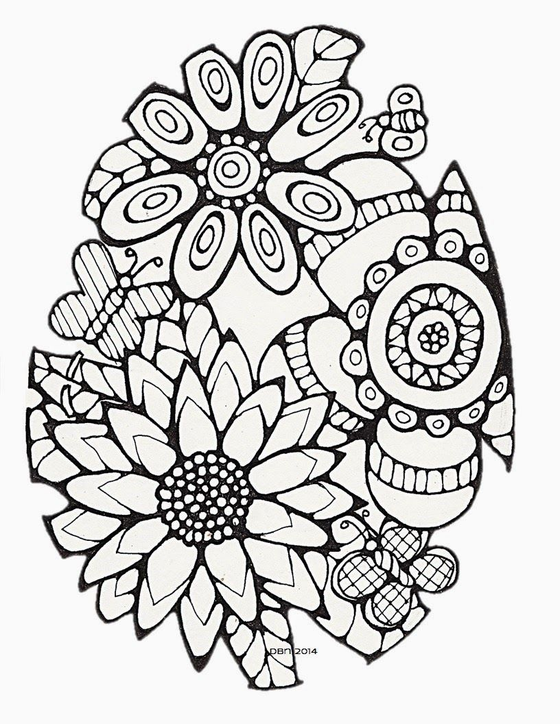 Darlene Nemeth: Happiness is . . . Coloring - Pages for Adults