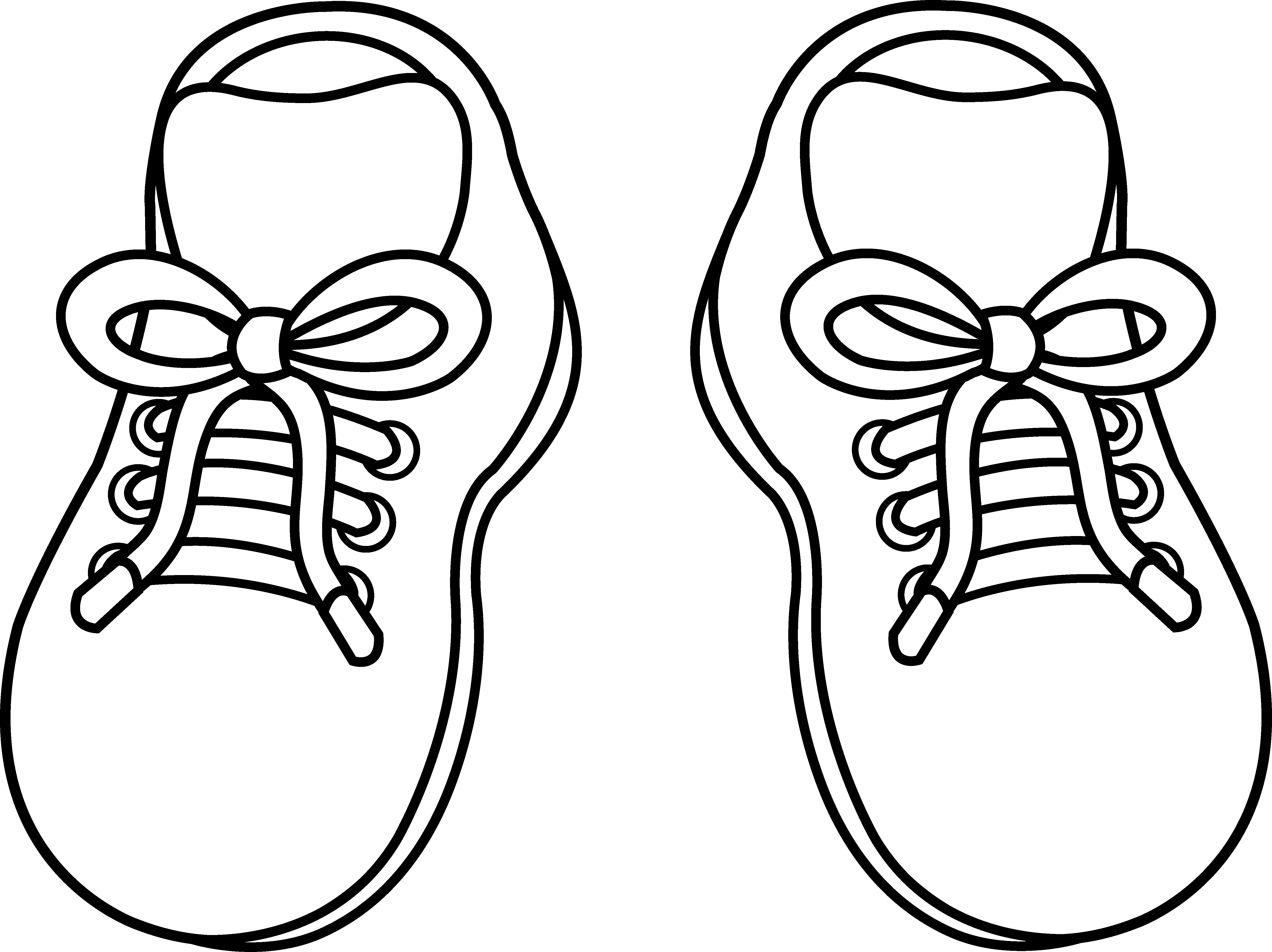 free children shoes coloring pages - photo#29
