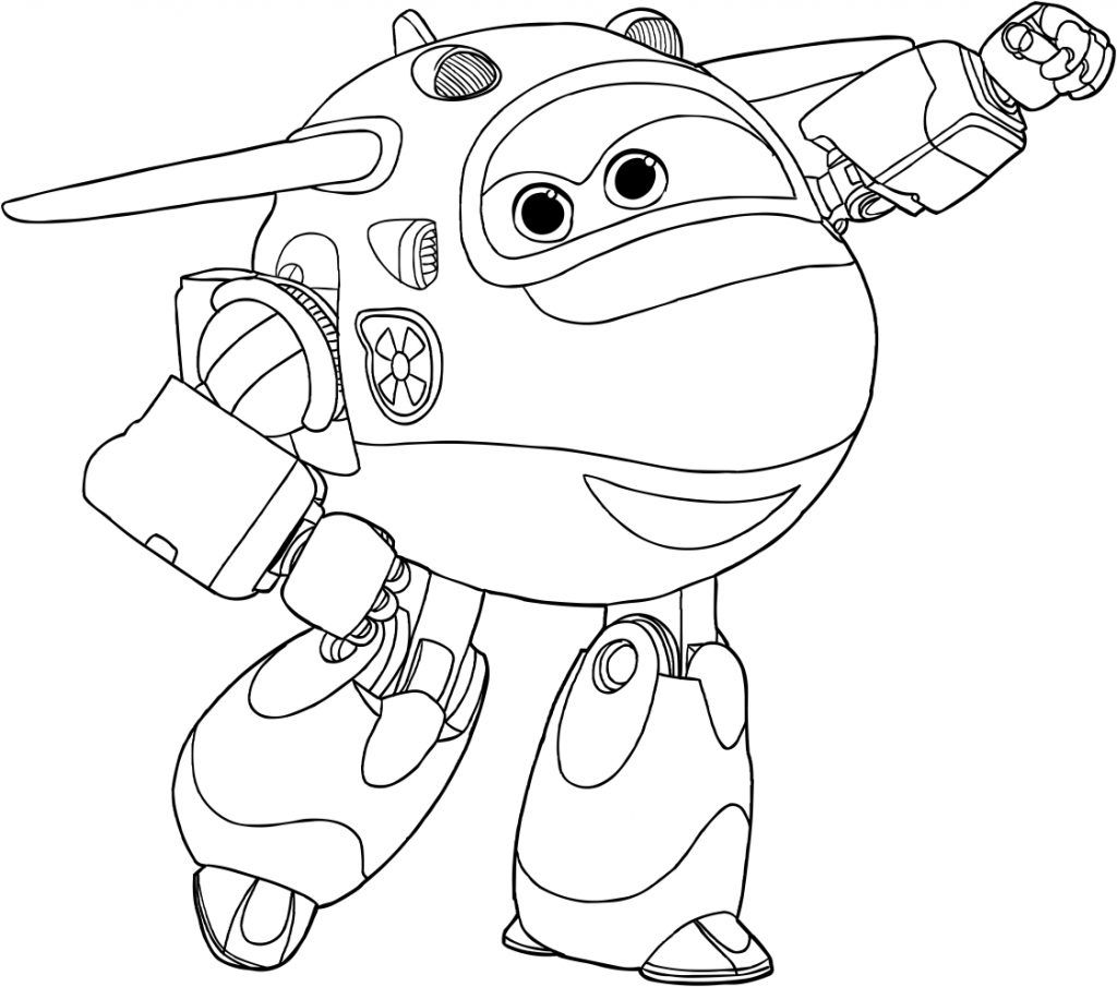 Super Wings Coloring Pages - Best Coloring Pages For Kids | Coloring pages  for kids, Cartoon coloring pages, Coloring pages