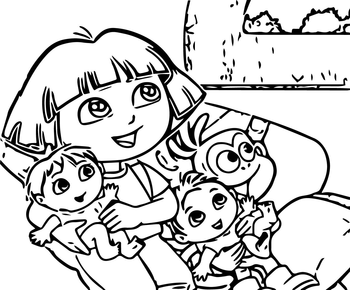 bed time coloring pages - photo #6