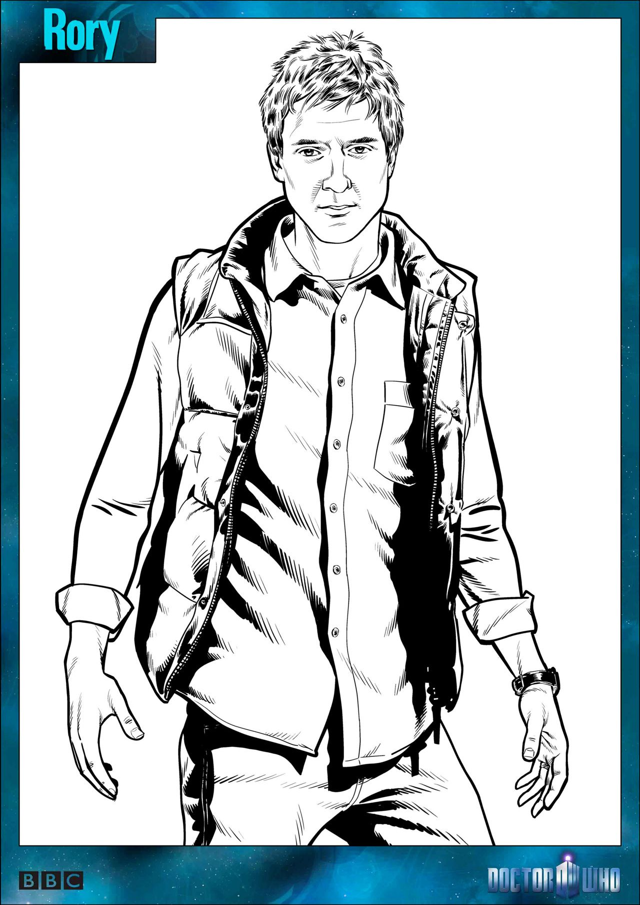 Doctor Who Coloring Pages Coloring