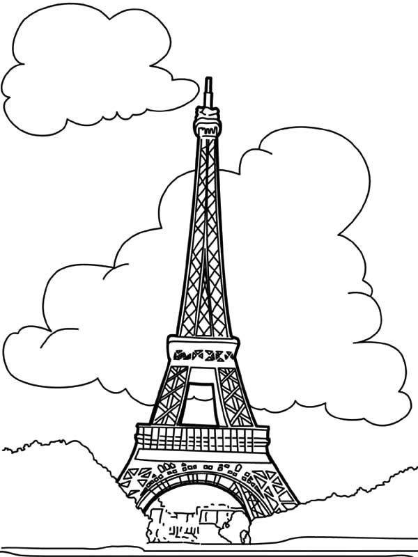 - Worldwonders Eiffel Tower Coloring Pages : Batch Coloring - Coloring Home