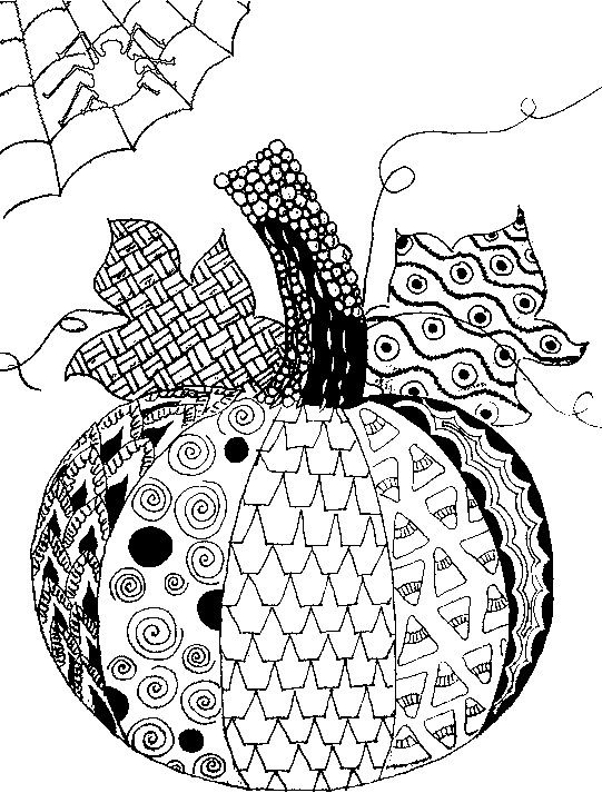 Adult Coloring Pages Halloween , Coloring Home