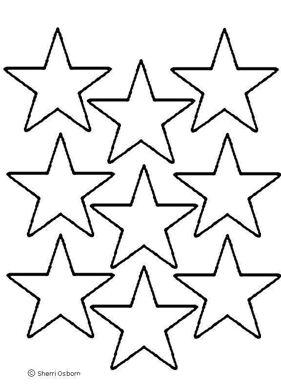 Best Photos Of Star Templates To Print - Large Star Template ...