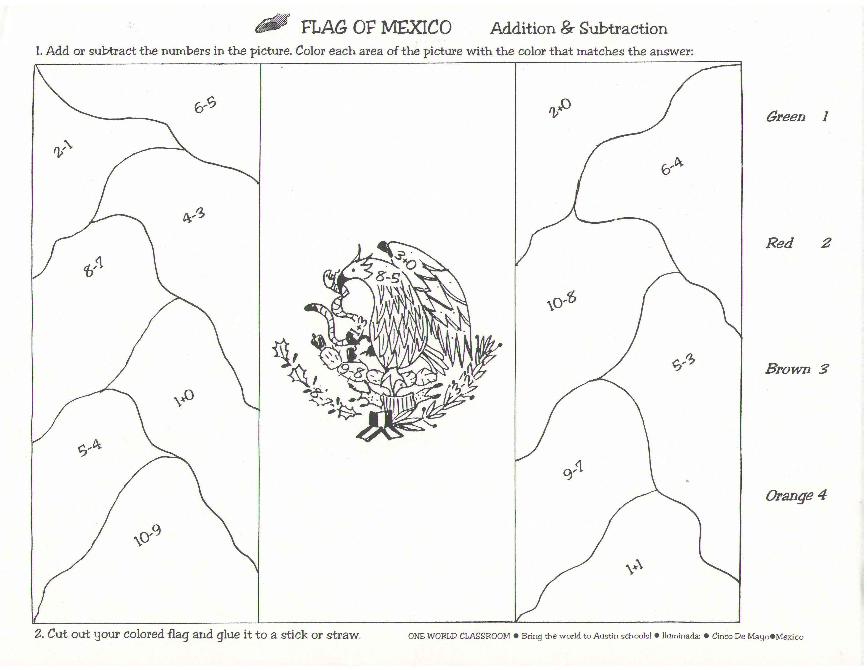 Coloring Pages New Mexico Flag Coloring Page mexico flag coloring page 17 pictures colorinenet 18497 mexican 18497