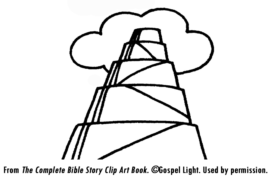 Tower of babel coloring pages free coloring home for Tower of babel coloring pages for kids