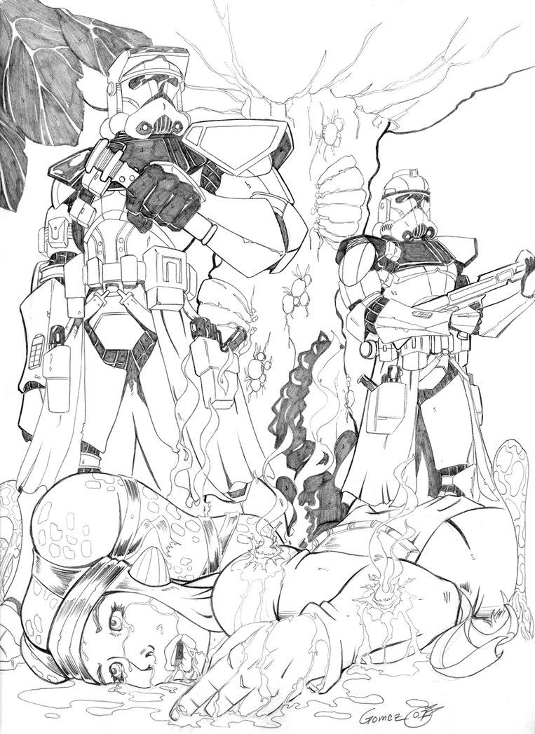 clone wars commander coloring pages - coloring home