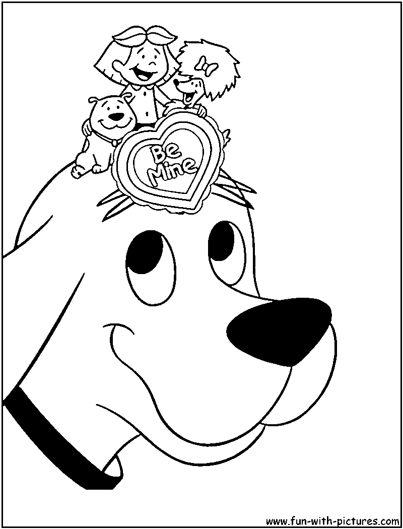 Clifford Coloring Pages To Print Coloring Home