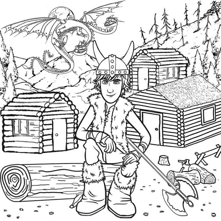log coloring pages - photo#21