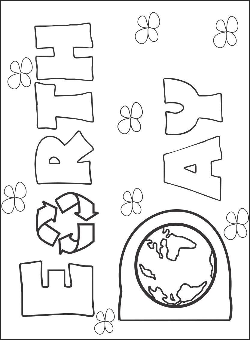 Earth Day Coloring Pages Wallpapers