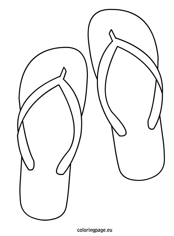 Gallery For gt Flip Flops Drawing