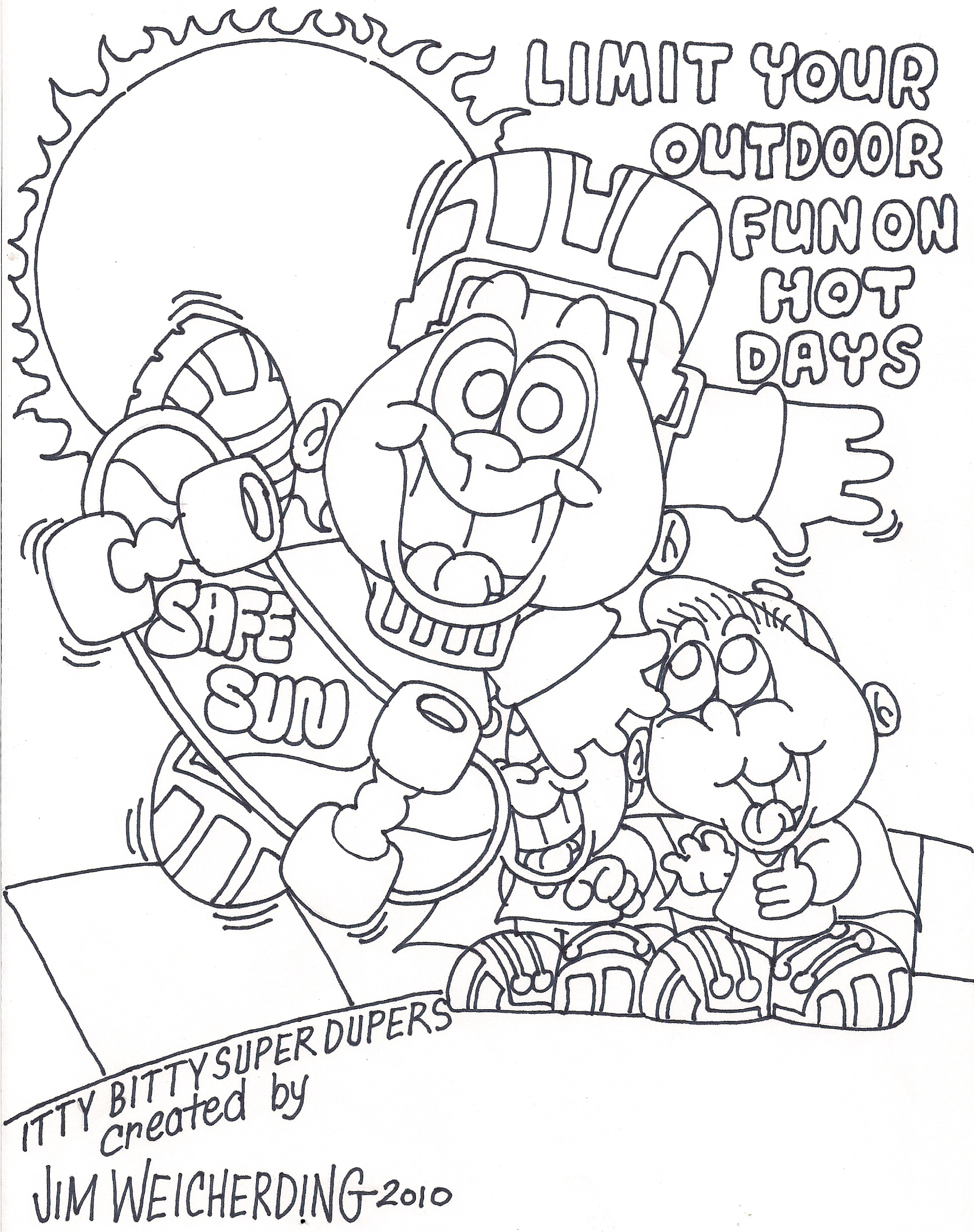 Sun Safety Coloring Pages Az Coloring Pages Sun Safety Coloring Pages