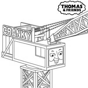 cranky crane coloring pages - photo#3