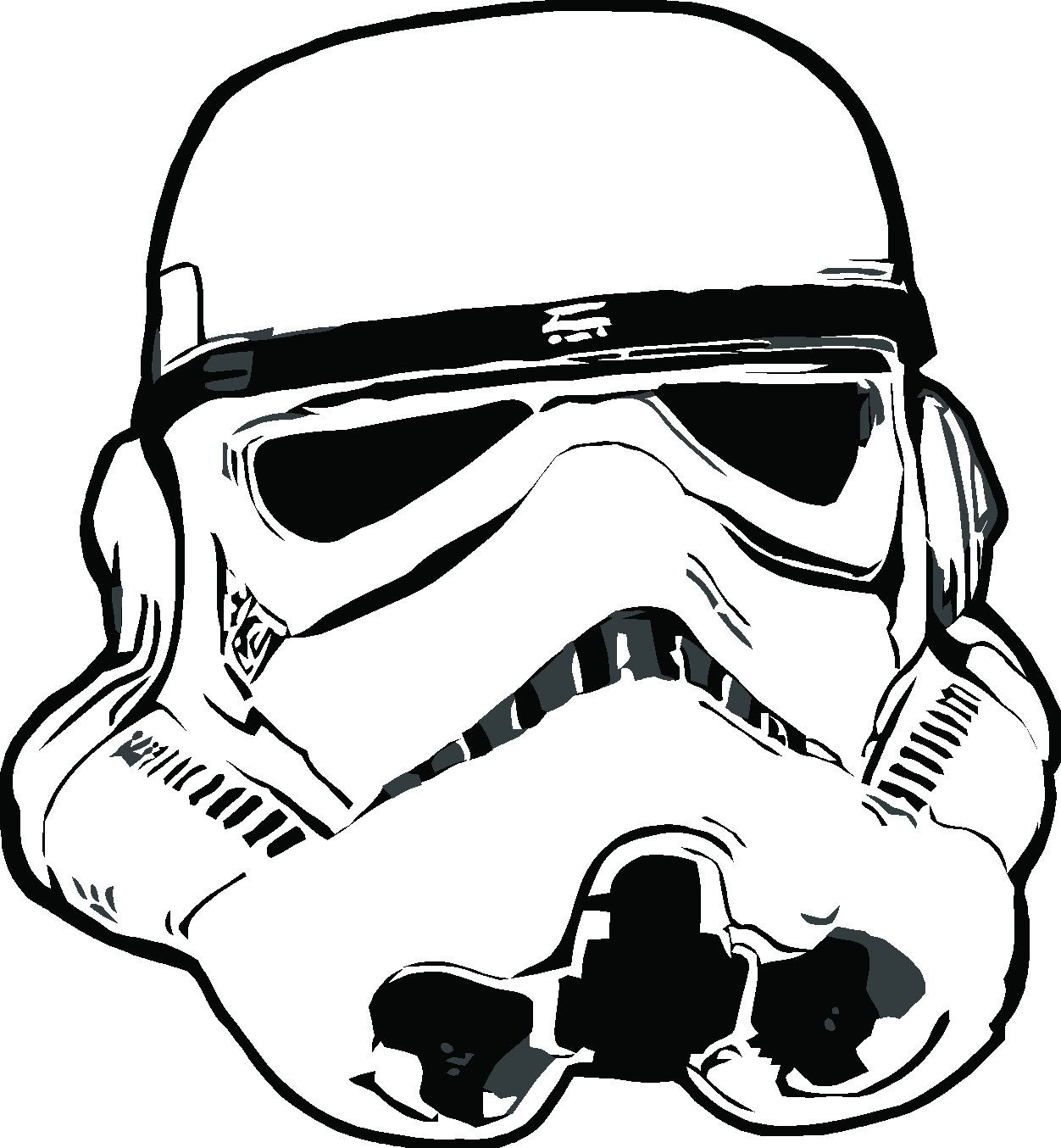 Star Wars Line Art - ClipArt Best