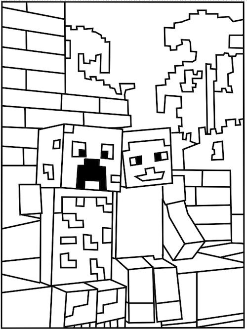 coloring pages minecraft stampylongnose halloween - photo#13