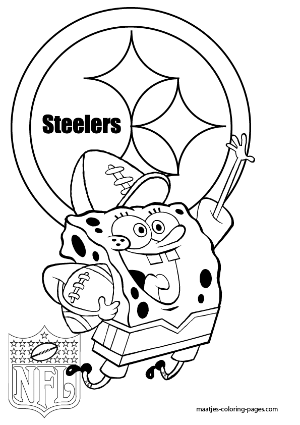 pittsburgh steelers coloring page - Steelers Coloring Pages Printable