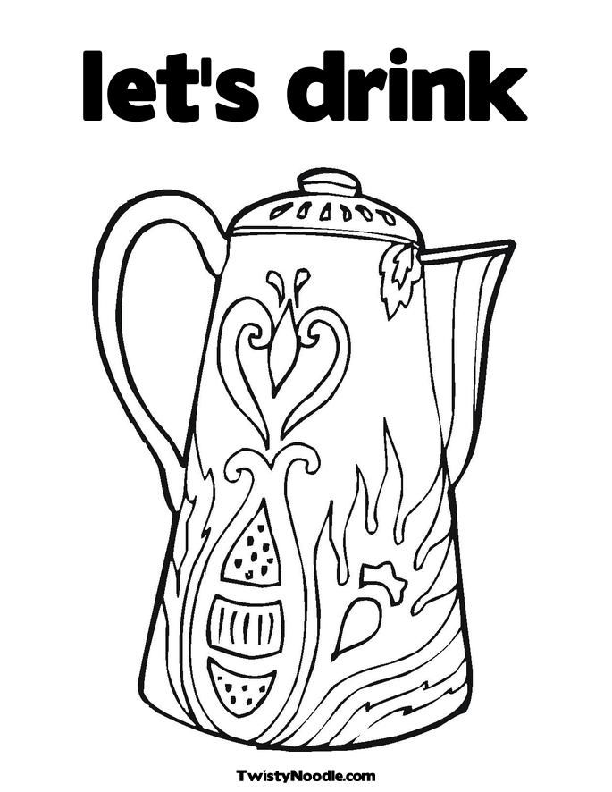 lion drinking water coloring pages   Coloring Page Drinking Water - Coloring Home