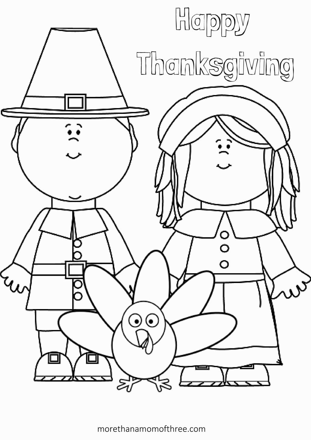 Coloring Pages Turkeys Preschool : Thanksgiving preschool coloring pages az