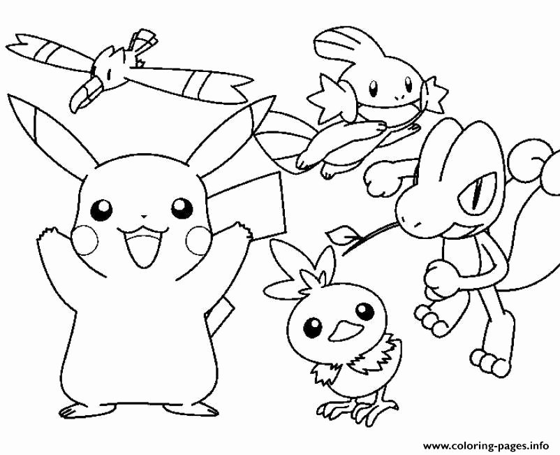 Detective Pikachu Coloring Page Best Of Detective Picachu ...