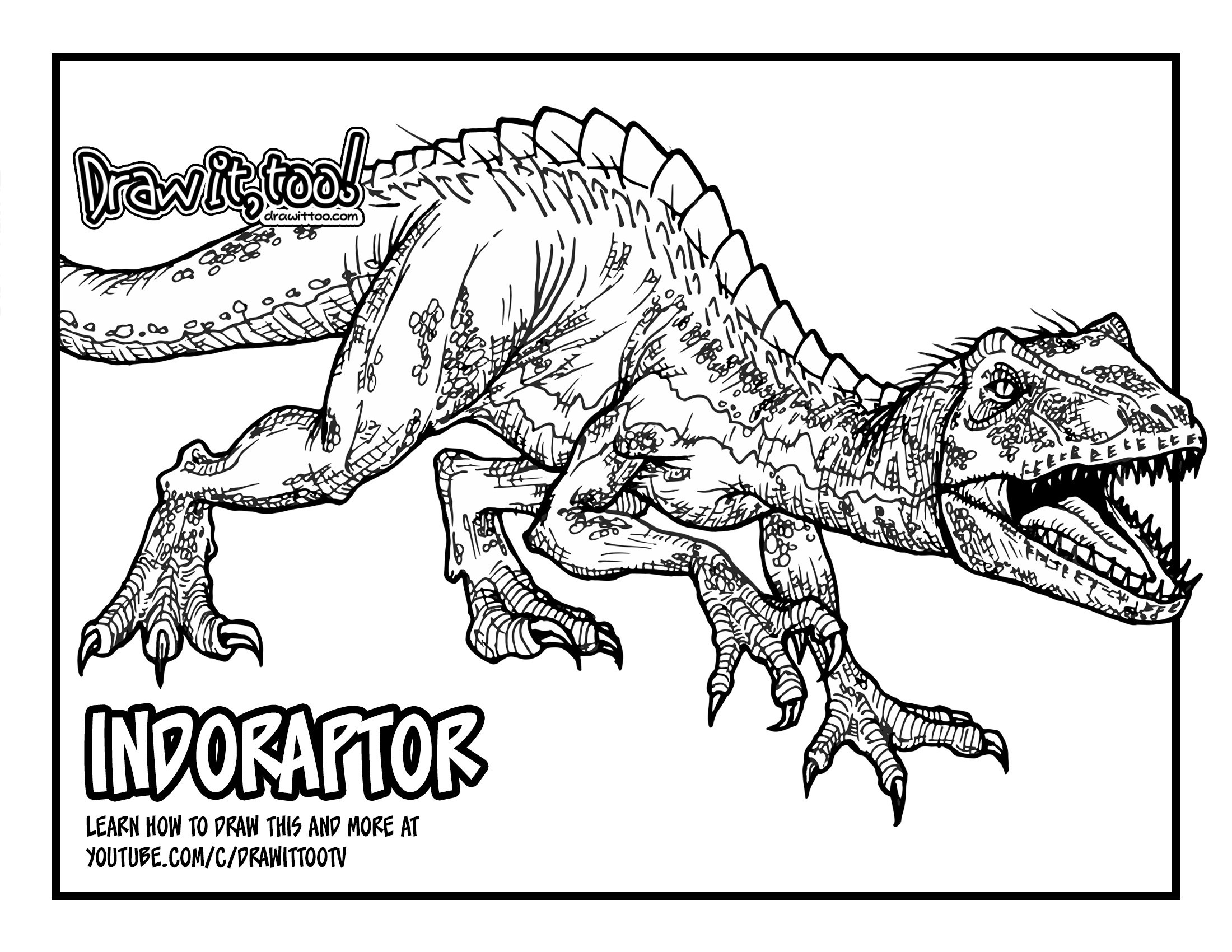 coloring pages jurassic world coloring best for kids dino
