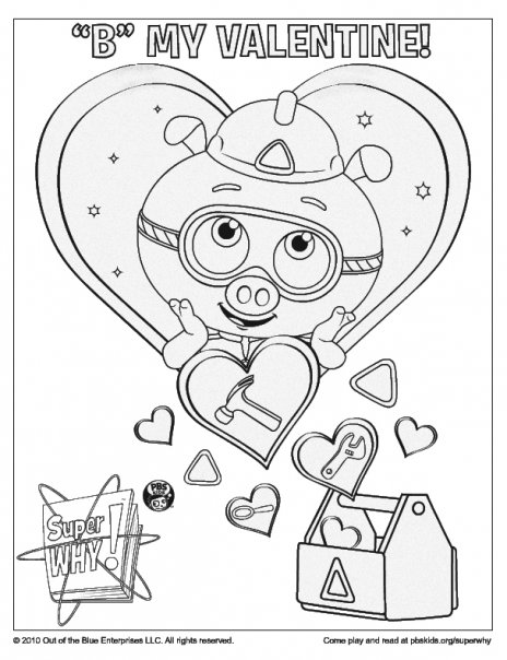 Super Why Coloring Pages Getcoloringpages Com Coloring Home
