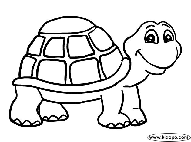 mommy turtle coloring pages - photo#32