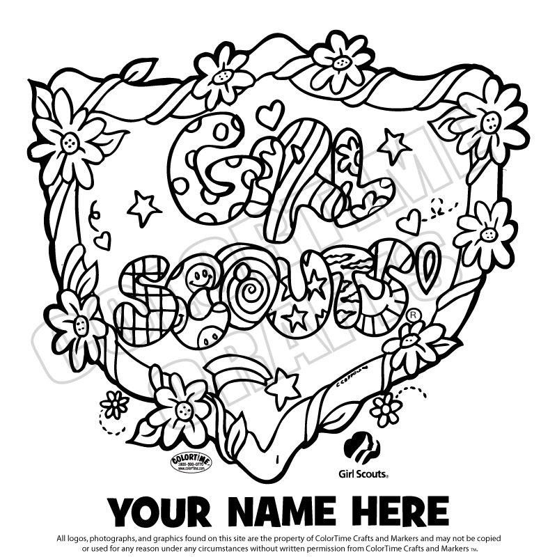 1000+ images about Girls Scout Coloring Pages on Pinterest | Girl ...