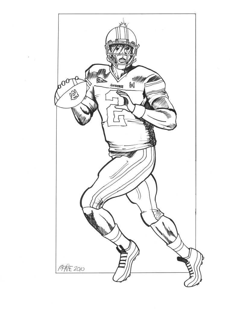 auburn coloring pages - cam newton coloring pages coloring home