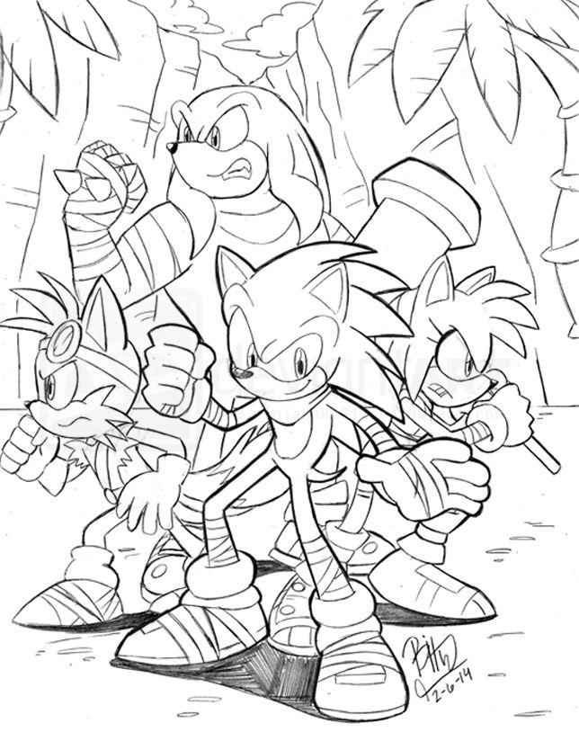 Amazoncom Sonic the Hedgehog Action Figure 6pcsSet