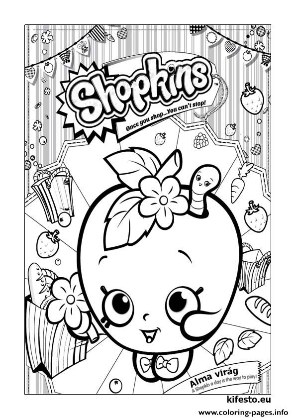 Snow Crush Shopkins Coloring Page - Free Shopkins Coloring Pages ... | 842x595