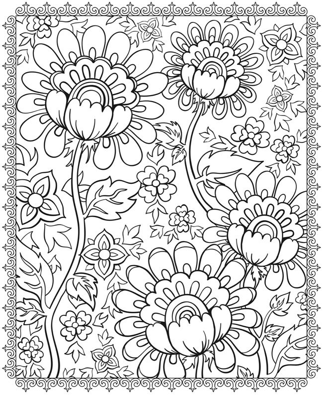 free trippy coloring pages - photo#36