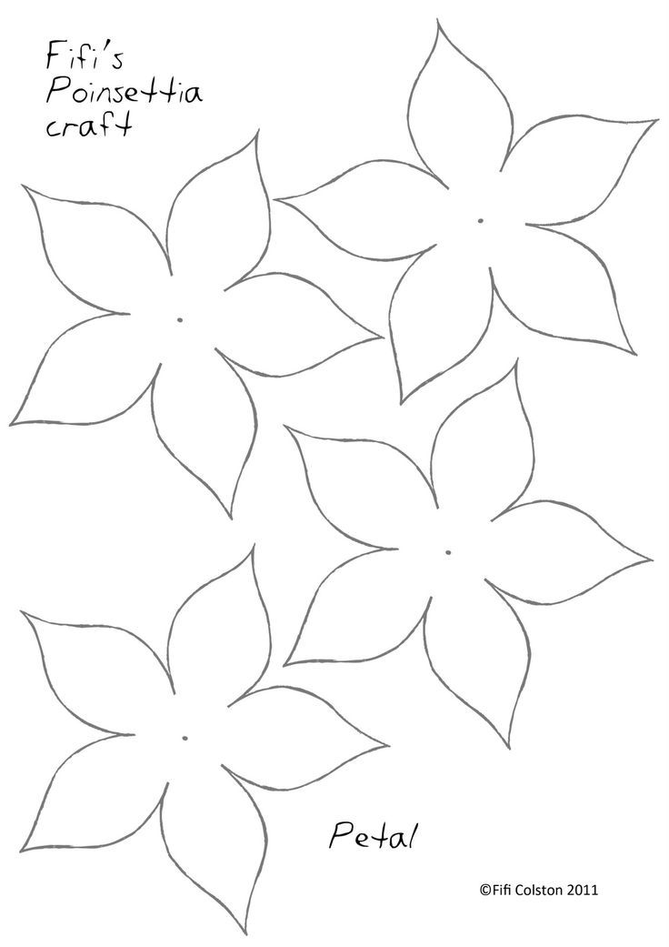 1000+ ideas about Flower Template | Paper Flowers ...