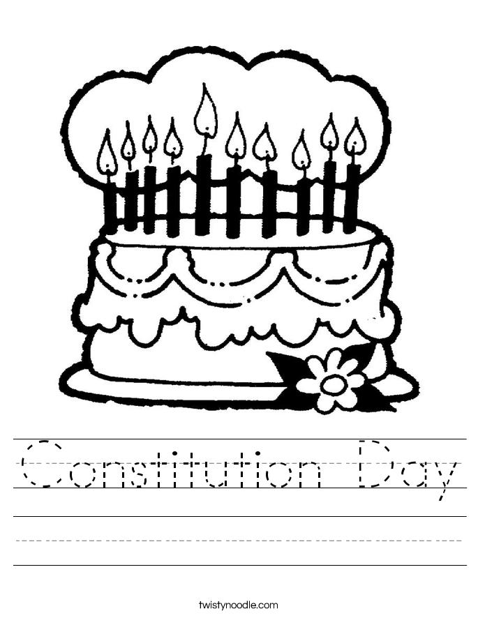 Constitution Day Coloring Pages - Coloring Home