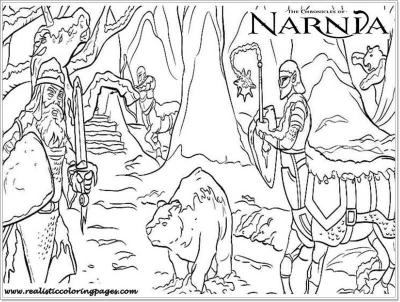 narnia coloring pages free - photo#49