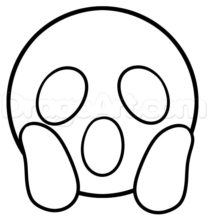Coloring Pages Emojis : Emoji coloring pages az