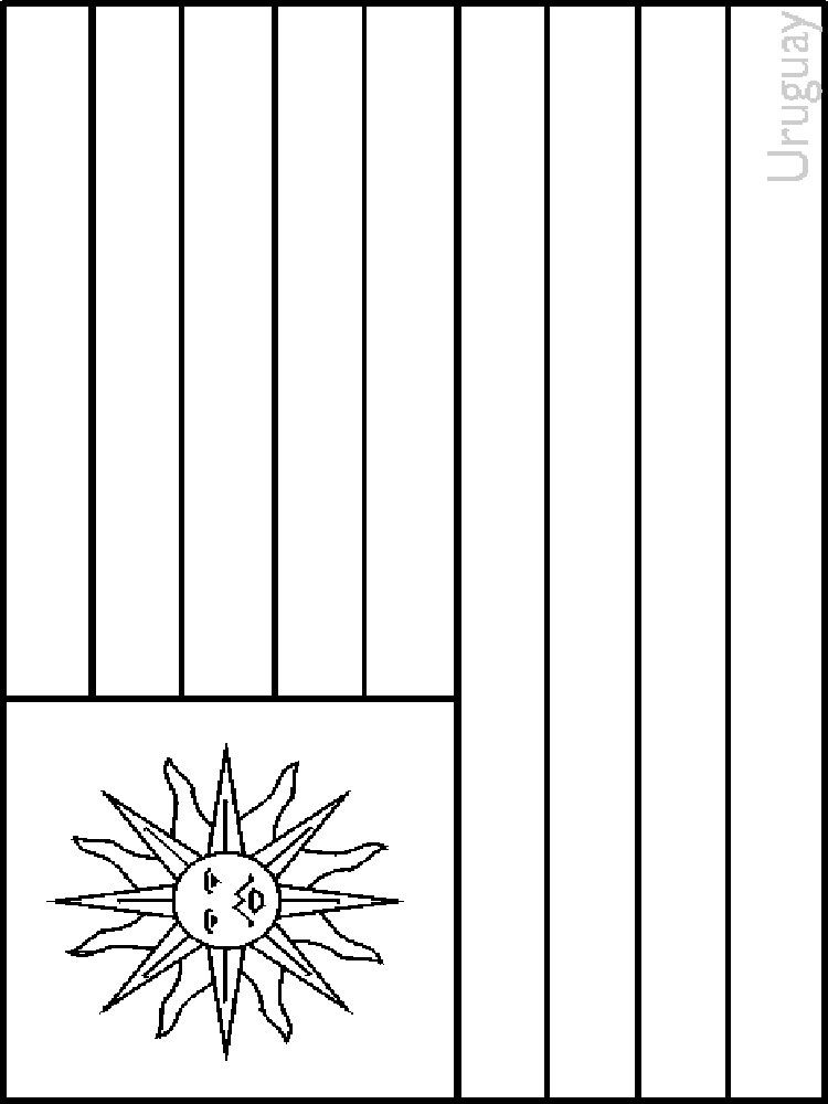 Country flags coloring pages coloring home for World flags coloring pages