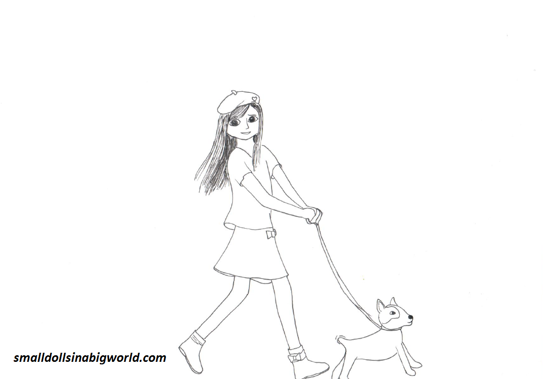 American Girl Doll Coloring Pages To Print (15 Pictures ...