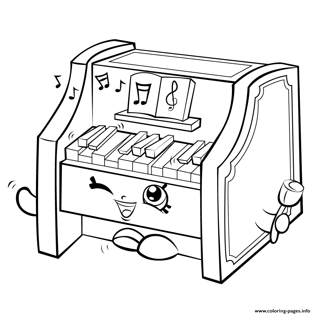 Piano Coloring Pages Coloring Home