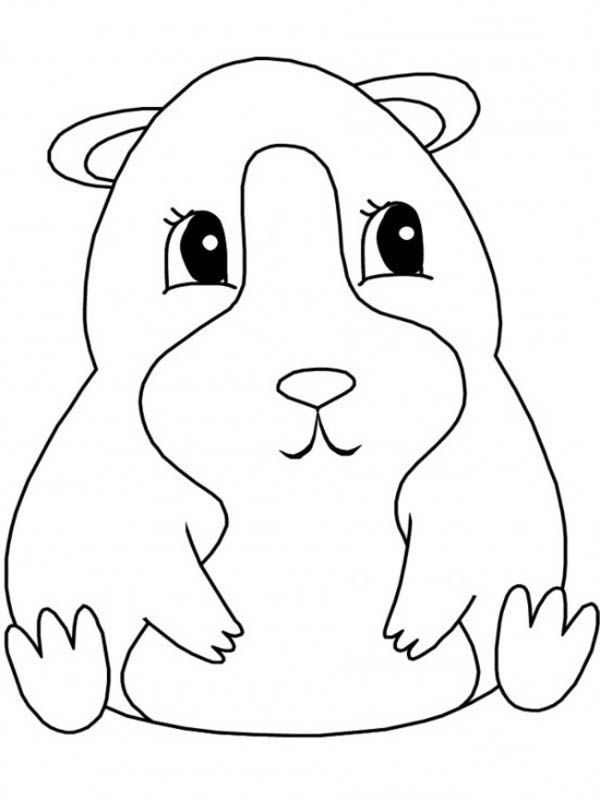 It's just a photo of Magic Coloring Pages Of Guinea Pigs Homes