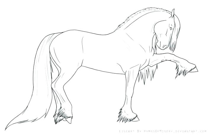 - Draft Horse Coloring Pages - Coloring Home