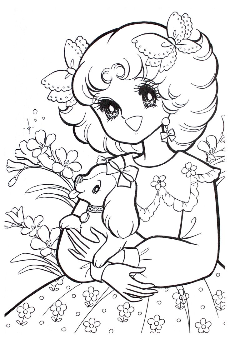 Vintage Coloring Book Pages Coloring