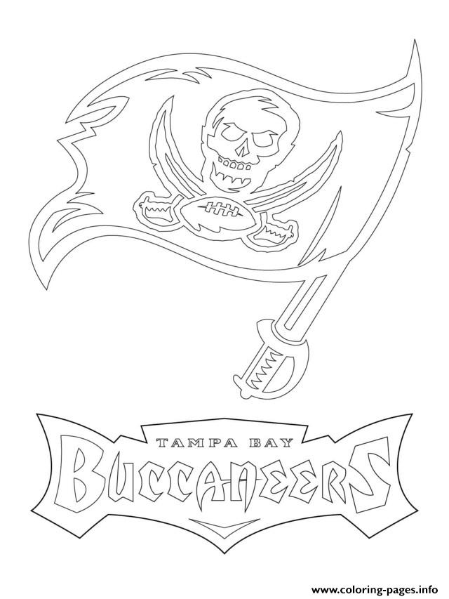 Tampa Bay Buccaneers Coloring Pages Coloring Home