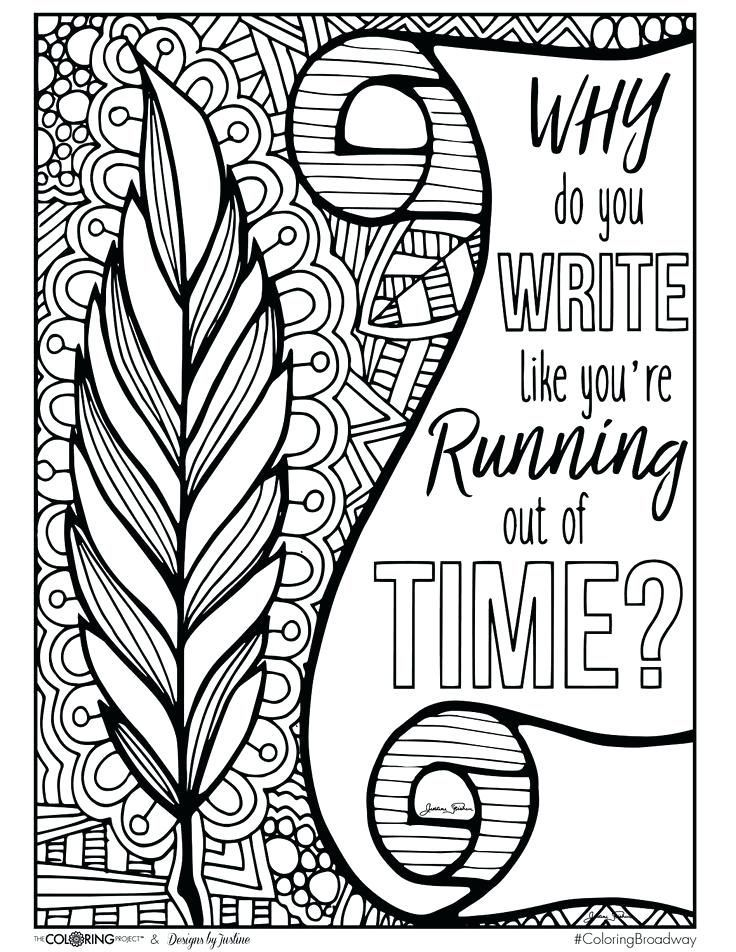 hamilton coloring pages coloring why do you write note card postcard coloring  page musical theatre new … | Coloring pages, Love coloring pages, Quote coloring  pages