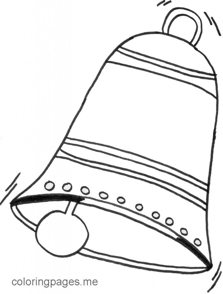 church bells coloring pages | Coloring Page Of Bell - Coloring Home