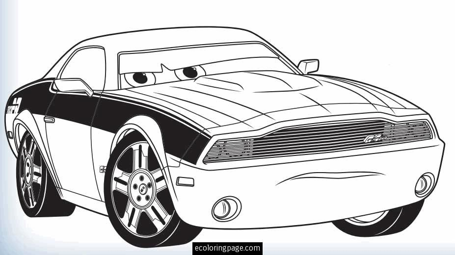 Coloring Pages Cars 2 Online - Coloring