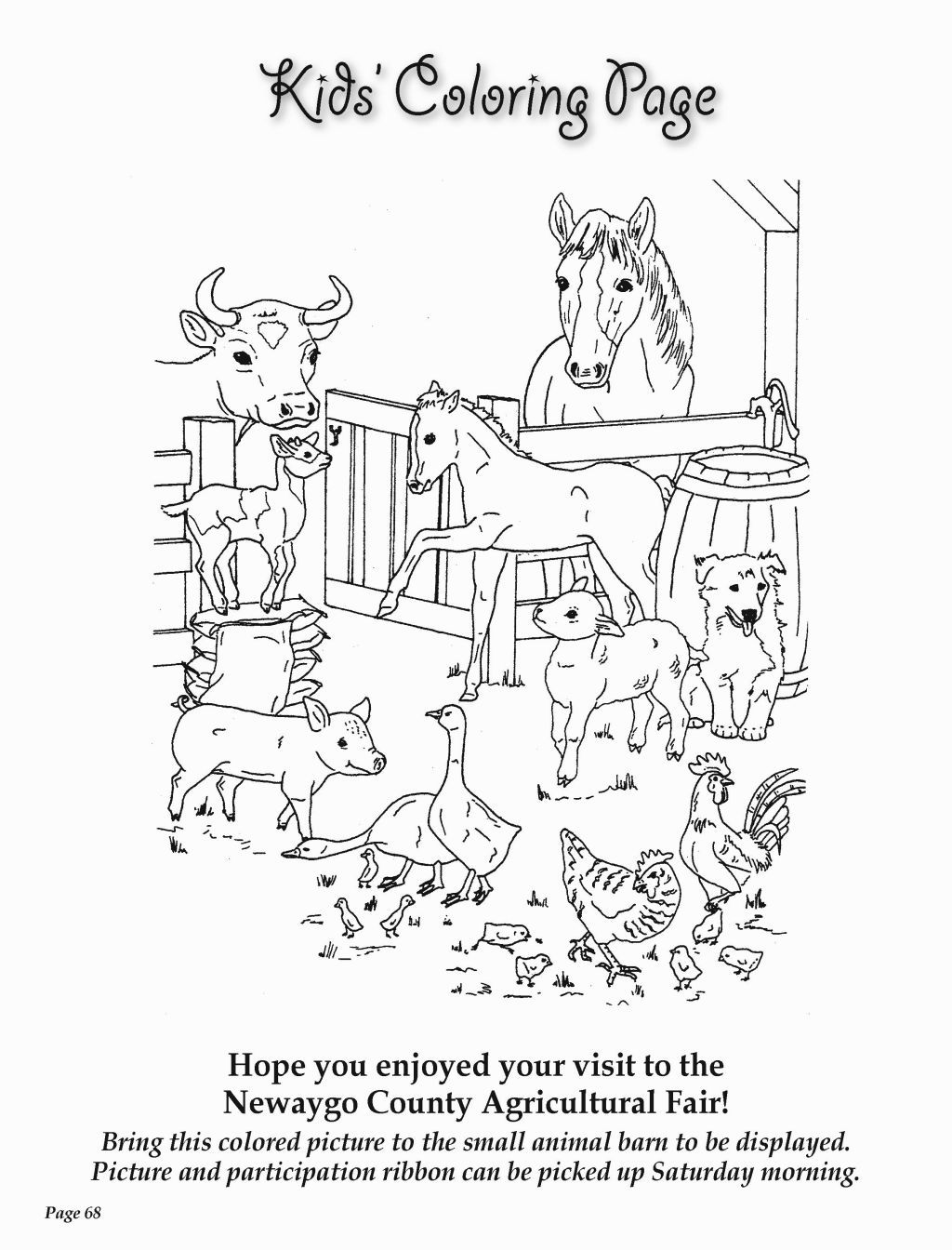mississippi state fair coloring pages - photo #2